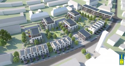 Visualisierung Wohnbebauung Untere Herzoghöhe Bayreuth